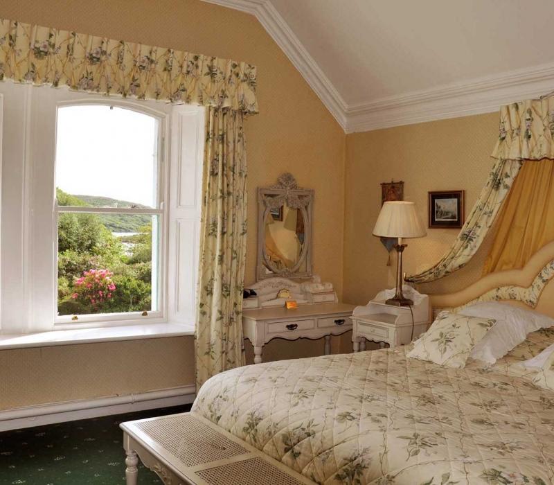 Historic Country House Hotel Accommodation Connemara : Sea Views